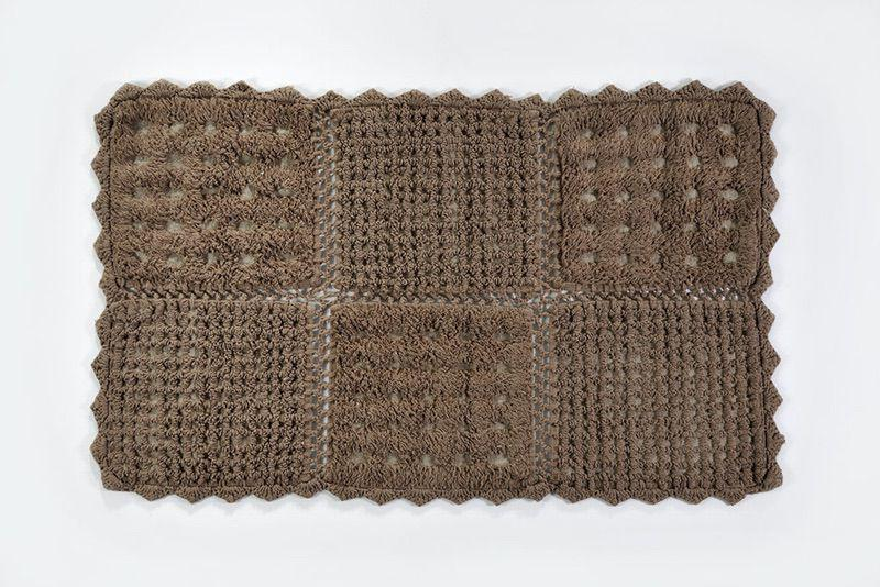 Down Town Πατάκι Biscuit 70x160 Brown