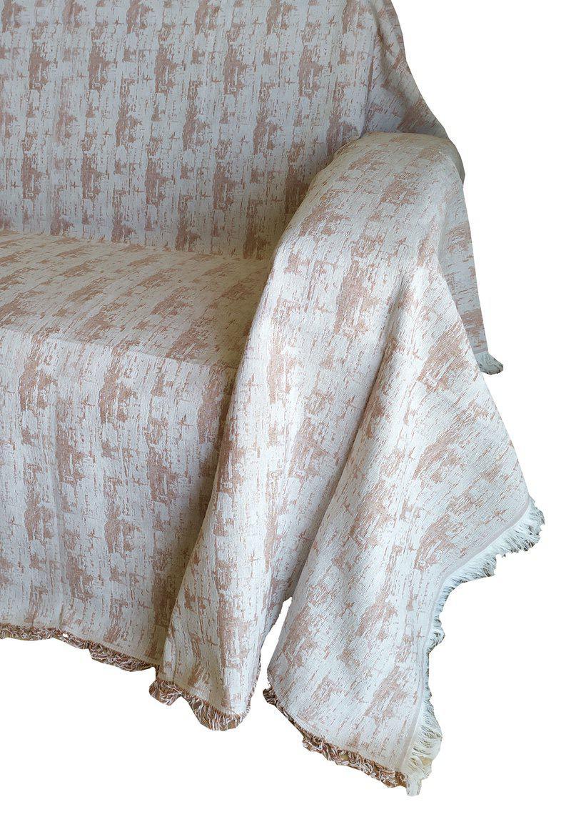 Ριχτάρι ΚΟΜΒΟΣ Βαμβακερό Διθέσιου 180×240 Toledo Ceramic
