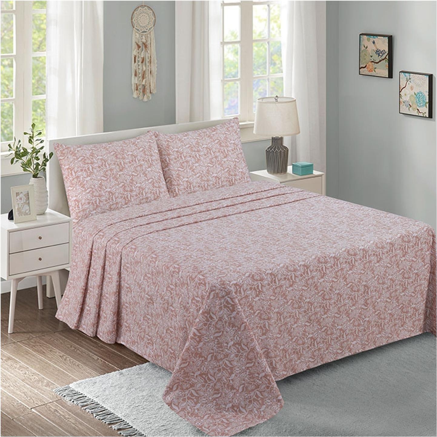 Lino Home Παπλωματοθηκη Υπέρδιπλες 220×240 Gela Pink