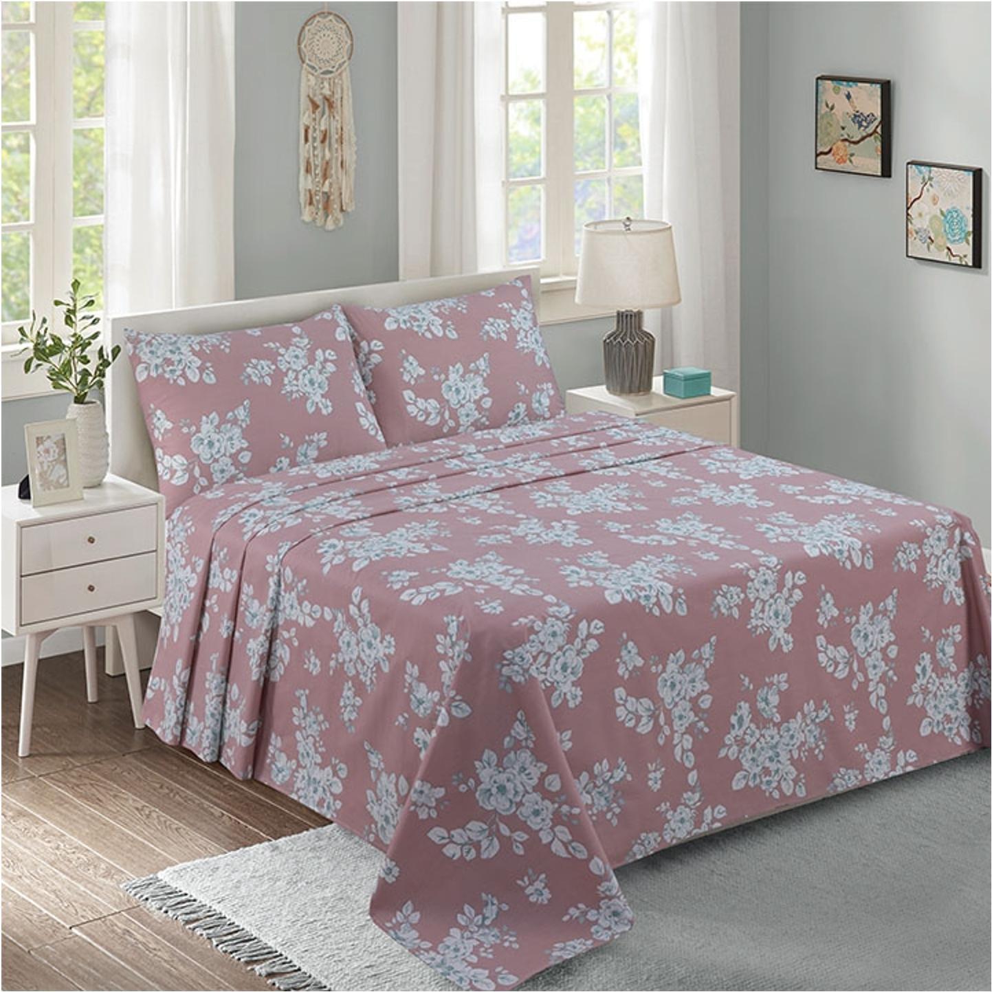 Lino Home Παπλωματοθηκη Υπέρδιπλες 220×240 Polp Pink