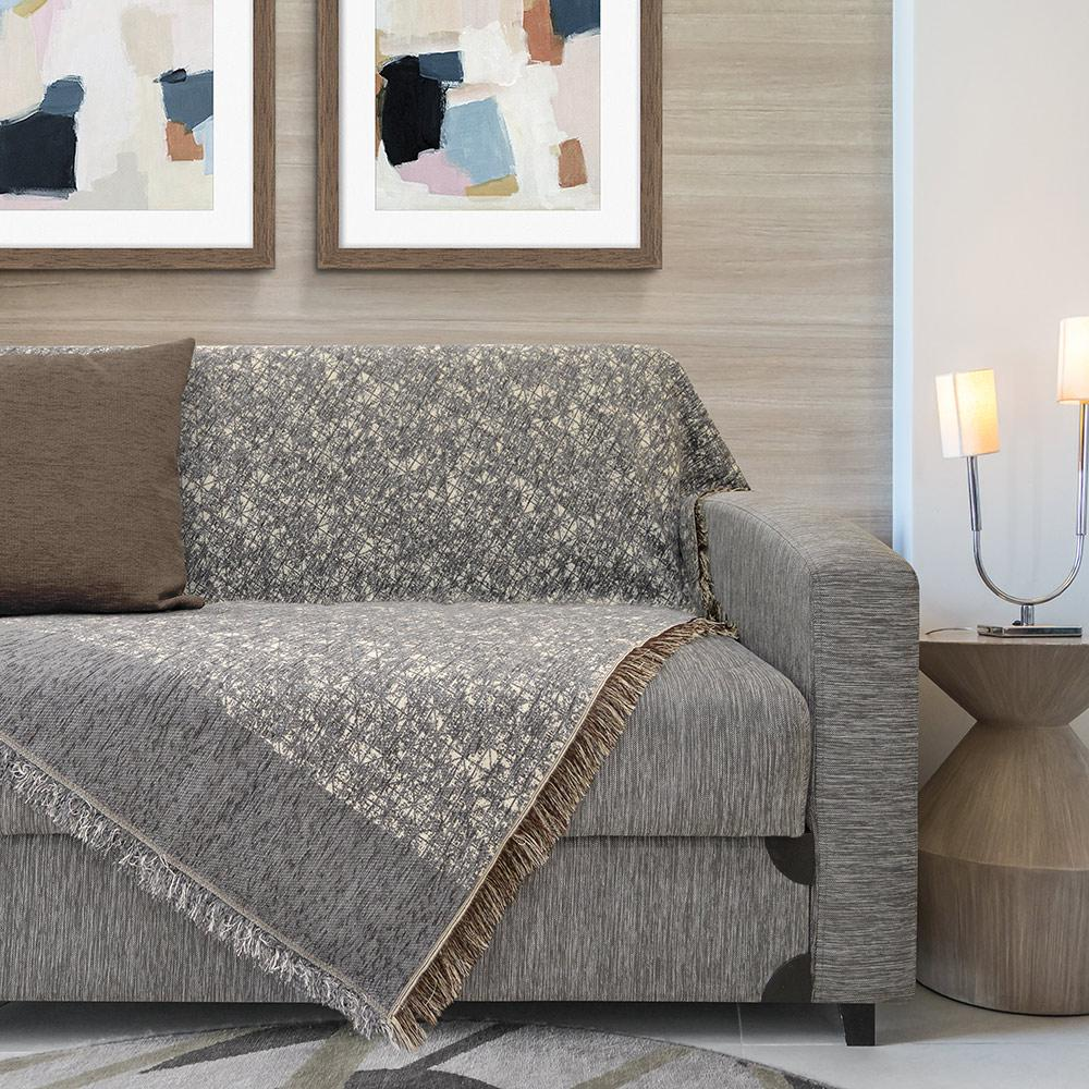 Lino Ριχτάρι Τριθέσιου 180×300 Beler Grey