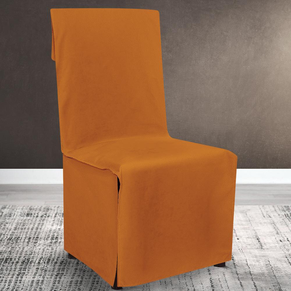 Lino Home Καλυμμα Καρέκλας Καρέκλας 106 Renas Orange
