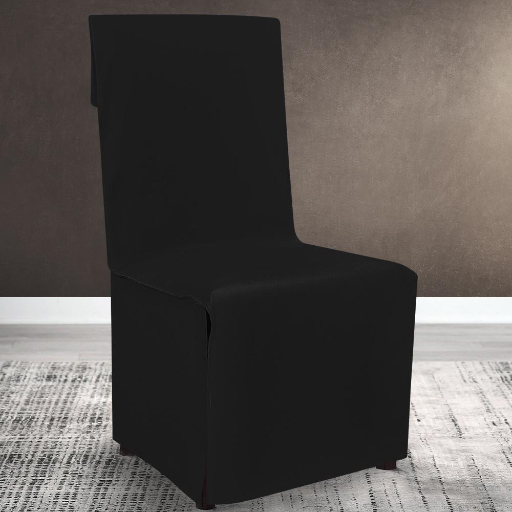 Lino Home Καλυμμα Καρέκλας Καρέκλας 194 Renas Black