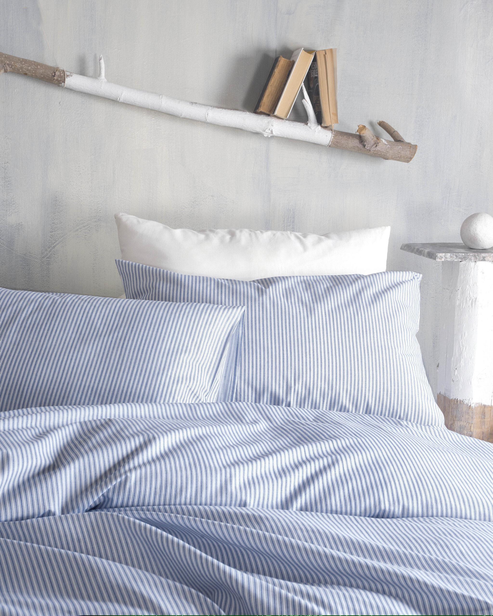 Rythmos Ιsandro Μπλε – Ζευγοσ Μαξιλαροθηκεσ 50Χ70