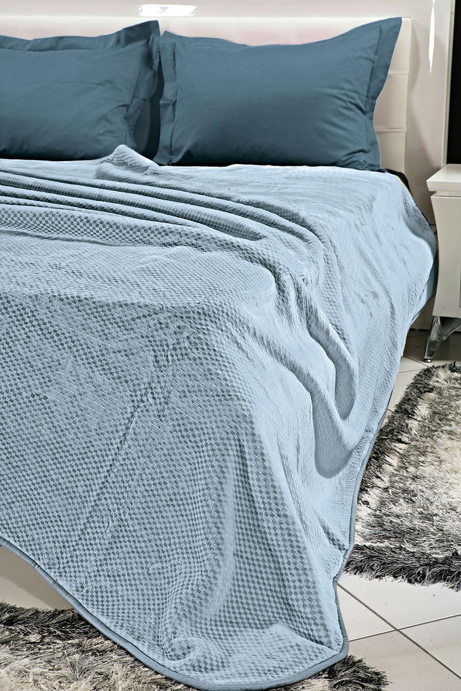 Κουβέρτα μονόχρωμη υπέρδιπλη Art 1060 σε 4 αποχρώσεις 220×240 Midnight Beauty Home
