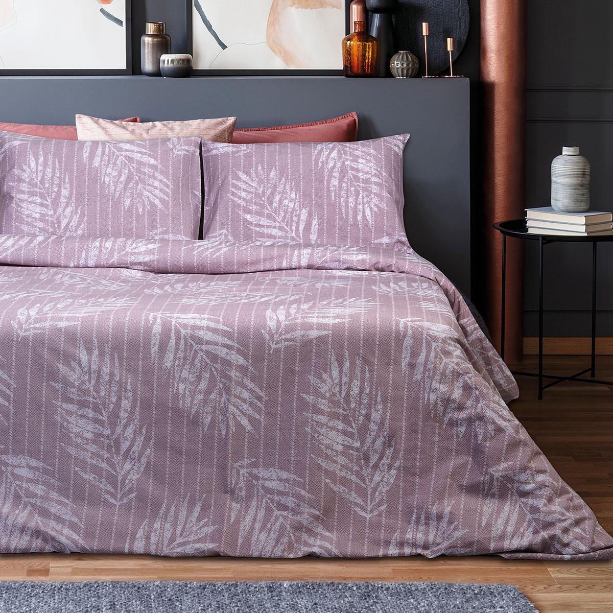 Σετ πάπλωμα υπέρδιπλο Zane Art 1967 220×240 Ροζ Beauty Home