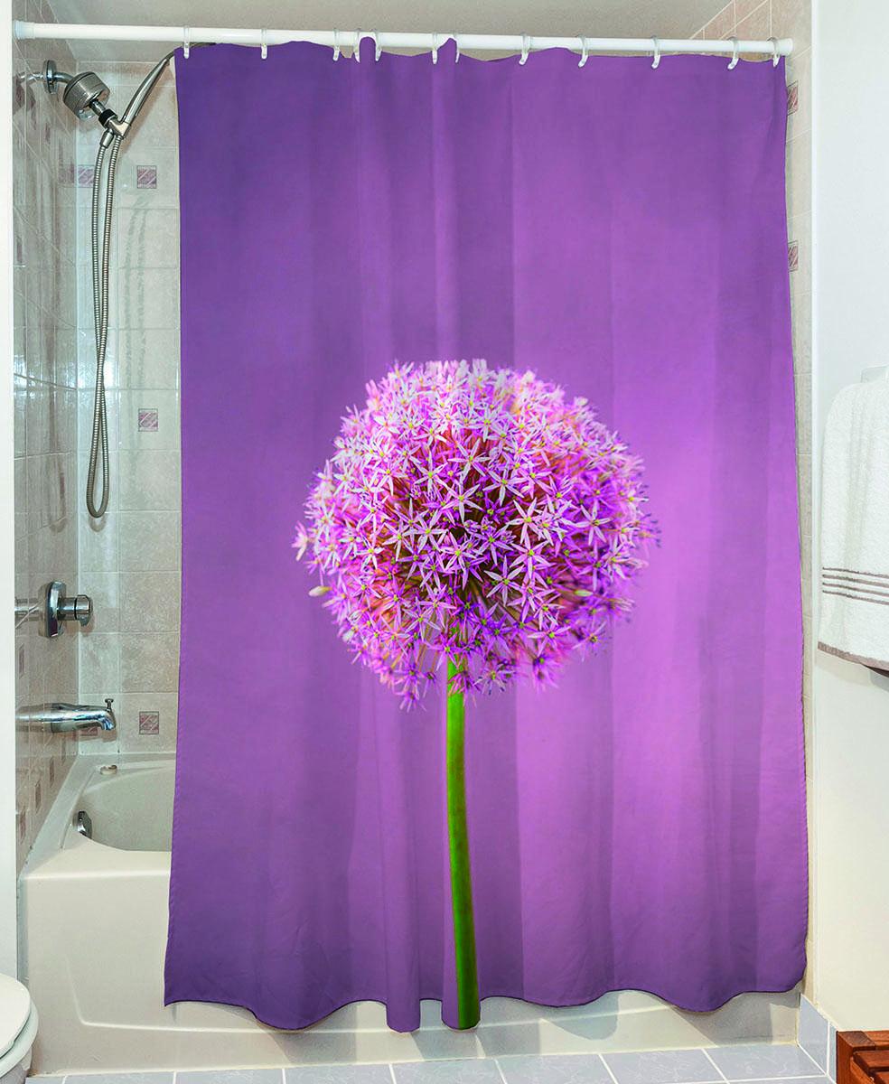 Κουρτίνα μπάνιου Smooth Art 3065 190×180 Μωβ Beauty Home