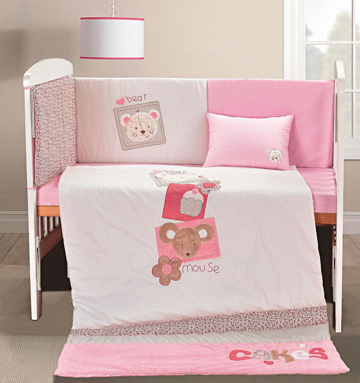 Σετ προίκας Pure thoughts Art 5104 Σετ 4τμχ Λευκό,Ροζ Beauty Home