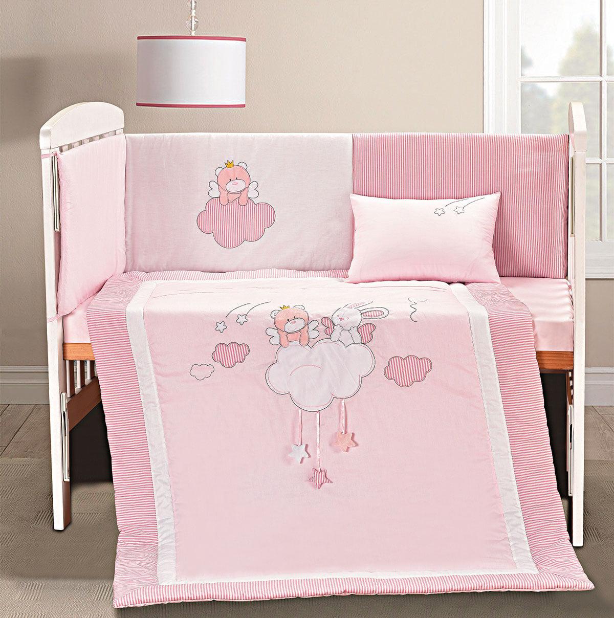Σετ προίκας I am a dreamer Art 5108 Σετ 4τμχ Λευκό,Ροζ Beauty Home
