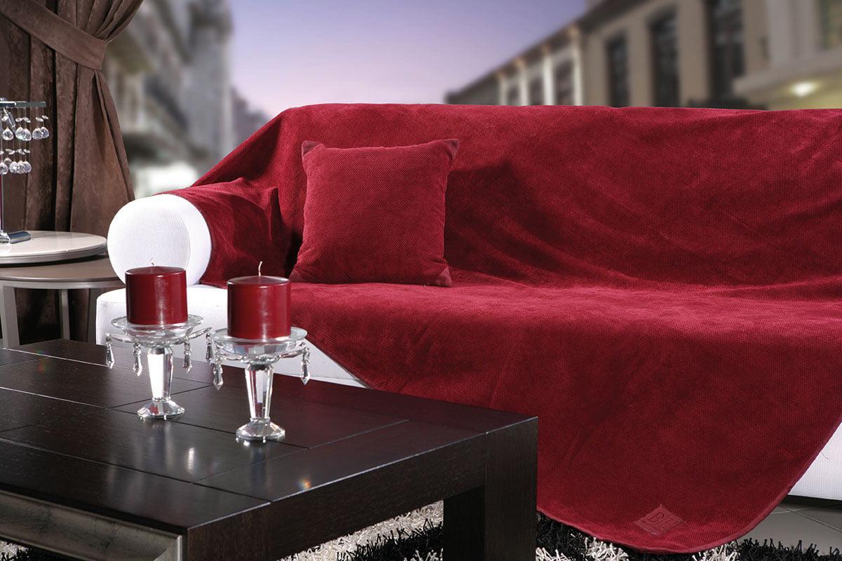 Ριχτάρι Τετραθέσιο Artistic 180×350 Art 8114 Κόκκινο Beauty Home
