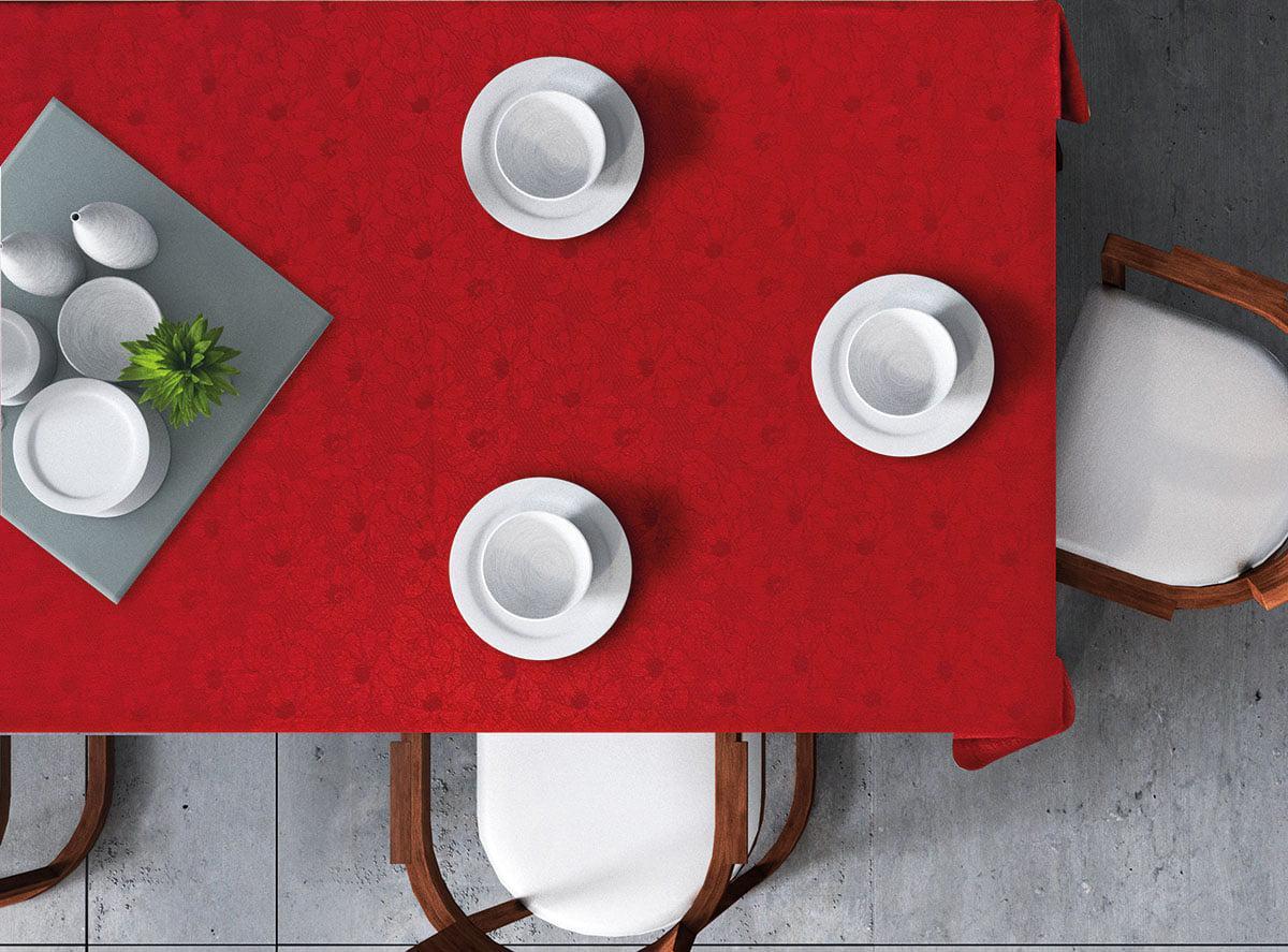 Τραπεζομάντηλο Art 8260 Κόκκινο 160×260 Beauty Home