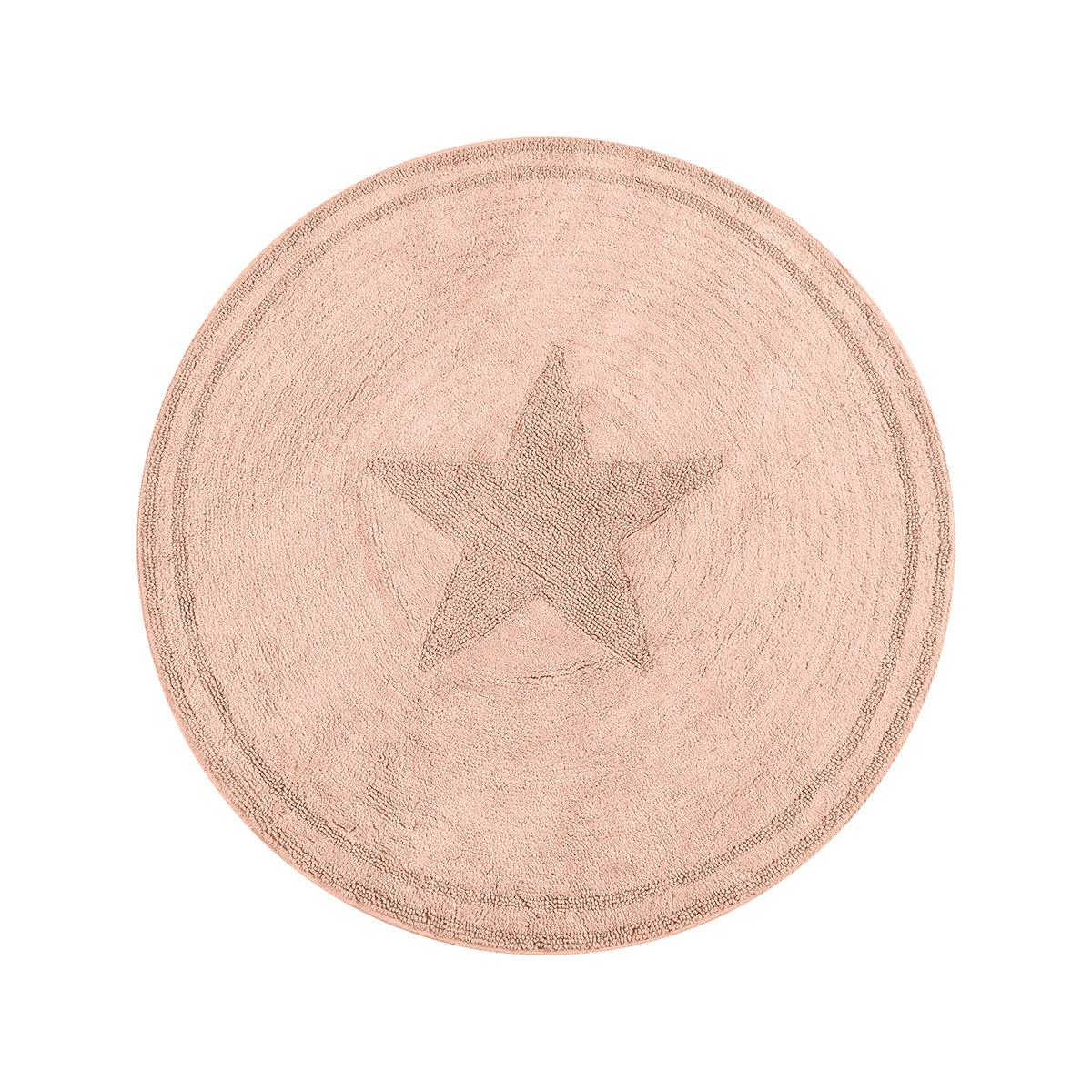 Ροτόντα βαμβακερή 120×120 Cottony Art 9555 Ροζ Beauty Home