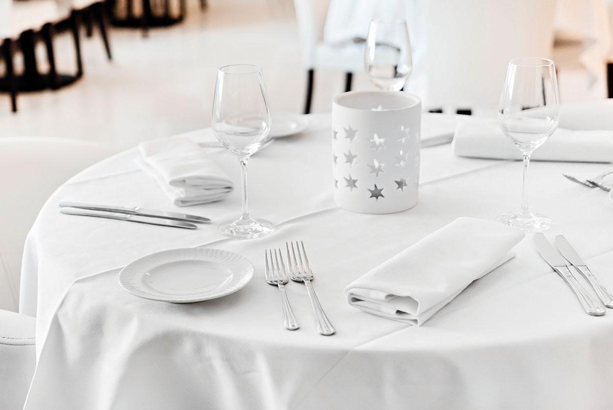 Τραπεζομάντηλο επαγγελματικό Compact 160×220 Λευκό Beauty Home