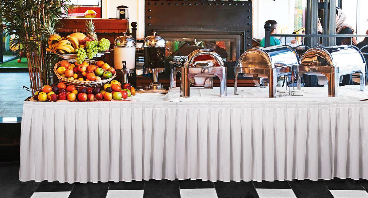 Τραπεζομάντηλο επαγγελματικό Solid 100×145 σε 2 χρώματα Λευκό Beauty Home