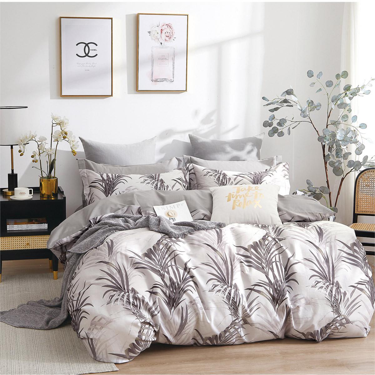 Σετ κουβερλί υπέρδιπλο Art 11017 Kingston 220×240 Εμπριμέ Beauty Home