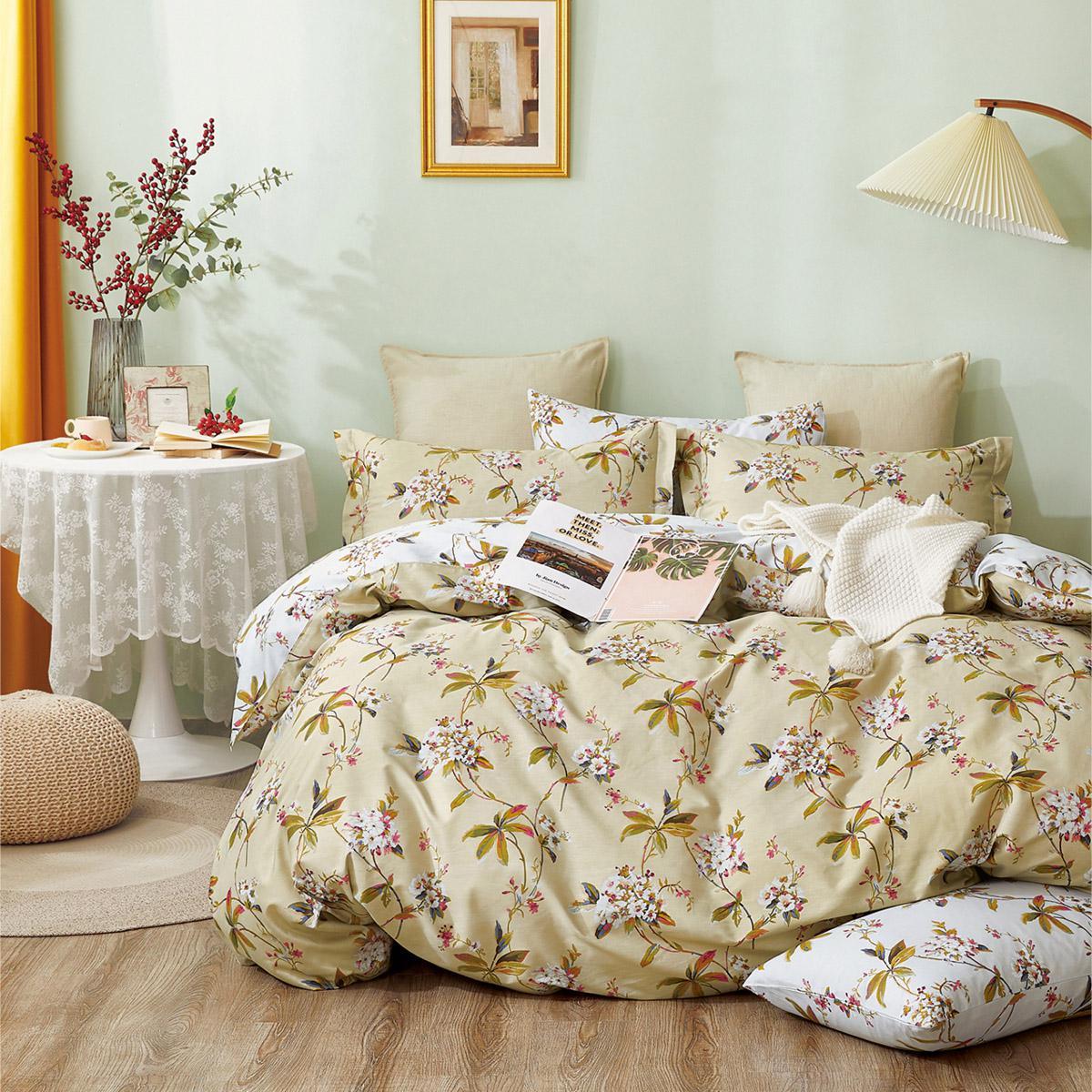 Σετ παπλωματοθήκη υπέρδιπλη Art 11020 Thorold 220×240 Εμπριμέ Beauty Home