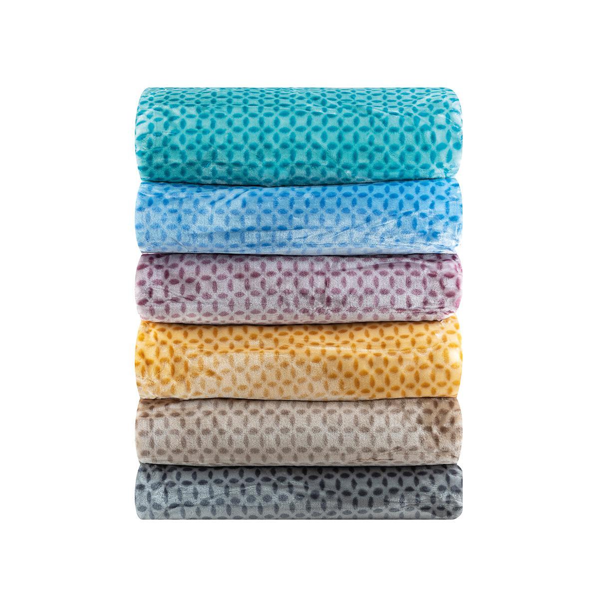 Κουβέρτα μονόχρωμη μονή Art 11000 σε 6 αποχρώσεις 160×220 Βεραμάν Beauty Home