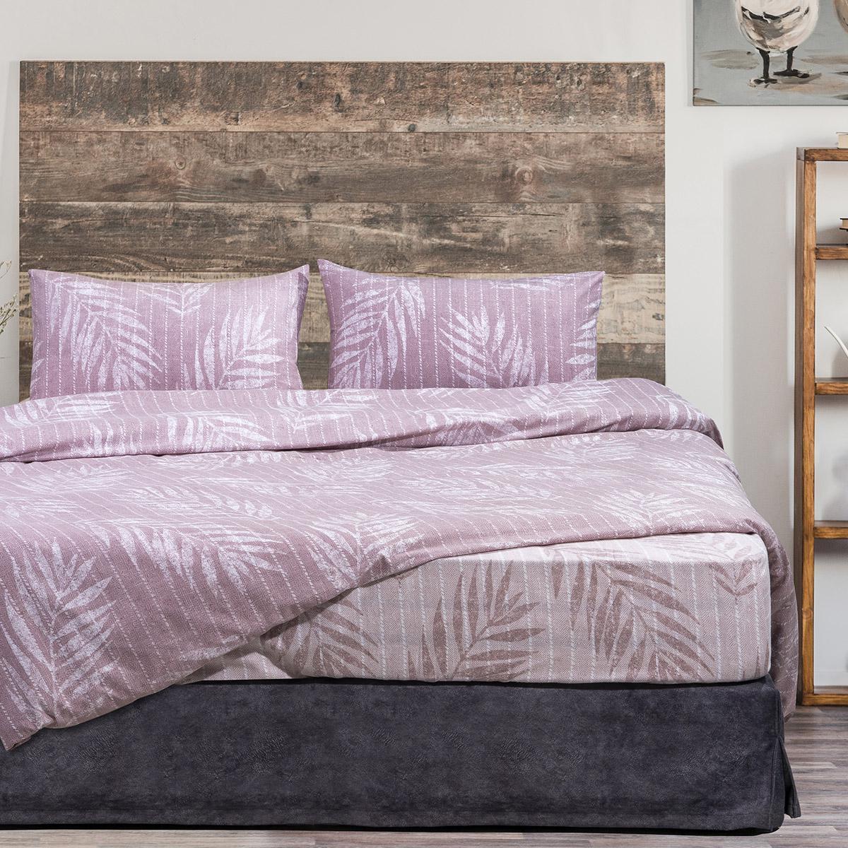 Σετ παπλωματοθήκη φανελένια υπέρδιπλη Lomond Art 11033 220×240 Εμπριμέ Beauty Home