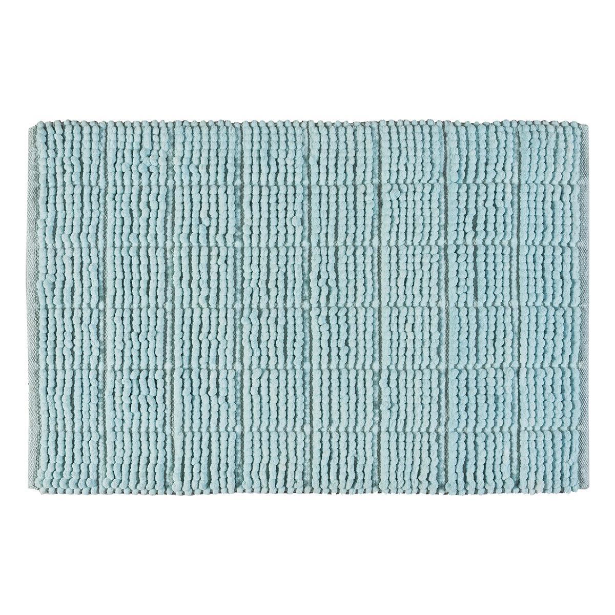 Ταπέτο μπάνιου Art 3330 60×90 Γαλάζιο Beauty Home
