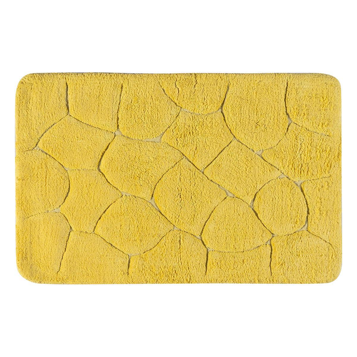 Ταπέτο μπάνιου Art 3352 60×90 Κίτρινο Beauty Home