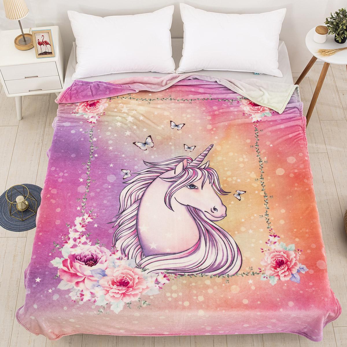 Κουβέρτα μονή Art 6114 160×220 Εμπριμέ Beauty Home