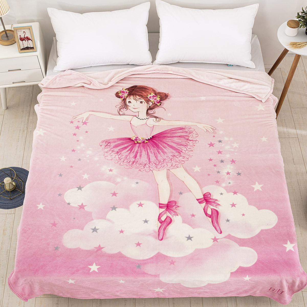 Κουβέρτα μονή Art 6163 160×220 Ροζ Beauty Home