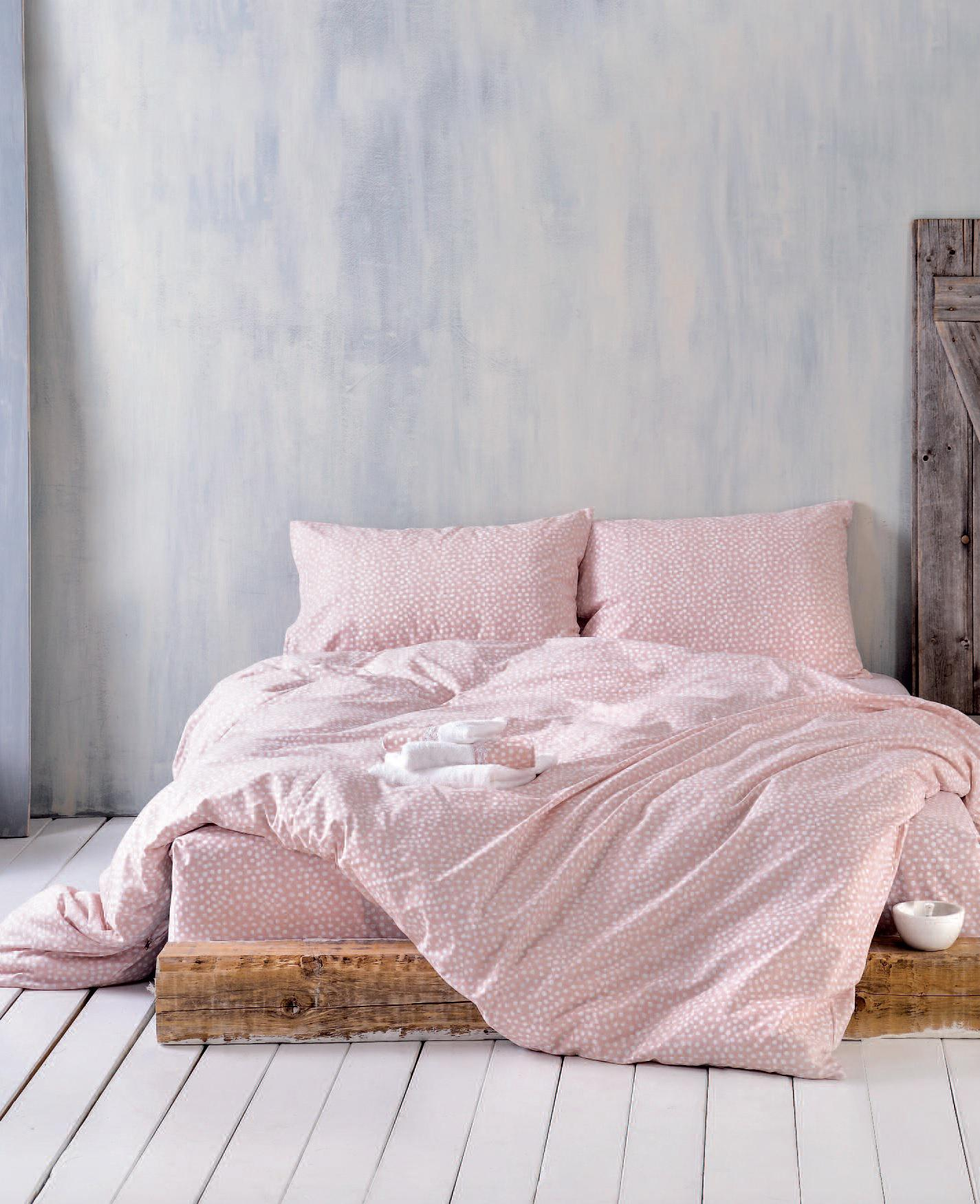 Rythmos Cute Ροζ – Σετ Παπλωματοθηκη Symbol Ημιδιπλο (160X250)