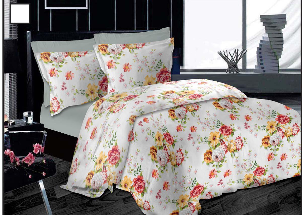 Σετ Πάπλωμα Le Blanc Premium Μονό Garden Flowers Grey 160Χ240