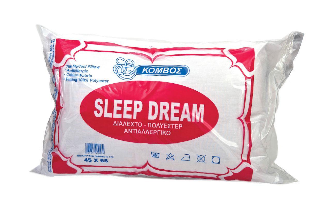Μαξιλάρι Ύπνου ΚΟΜΒΟΣ Standard Line 50x80 550gr